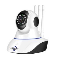Поворотная IP камера (видеоняня) Hiseeu FH-1C 1080 P (P2P, WiFi, датчик движения, ИК, 1920*1080, 2МП, звук, запись на MicroSD и в облако, onvif, работа онлайн и без Интернета)