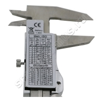 Штангенциркуль цифровой металлический с ЖК-дисплеем Maxman в кейсе