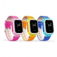 Детские GPS часы-телефон Baby watch Q60 (оранжевые)