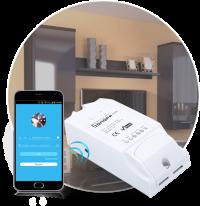 WiFi реле SonoFF World On Dual для двух электроприборов