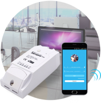 WiFi реле SonoFF World On POW с функцией статистики электроэнергии