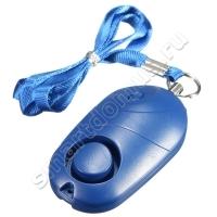 Персональный брелок сирена (карманная сирена) с фонариком