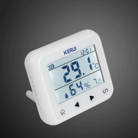 Автономный беспроводной датчик температуры и влажности с экраном Kerui