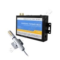 GSM сигнализация Sapsan Termo-box 3G/4G с Wi-Fi для камер видеонаблюдения, управление отоплением, теплицей, охрана дома