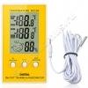 Цифровая метеостанция комнатная (температура, влажность) с внешним датчиком температуры