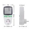 Розетка-ваттметр/вольтметр/амперметр (измеритель мощности, напряжения, счётчик электроэнергии) TS-838
