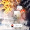 Автономный беспроводной датчик дыма (пожарный извещатель) Kerui sd04